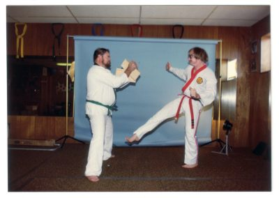 Taekwondo Photo Shoot Circa 1983