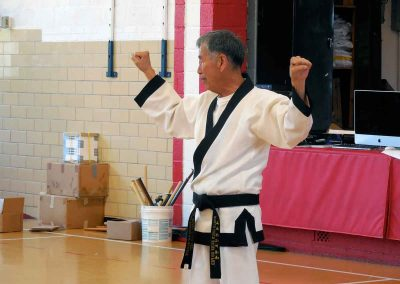 Supreme Master Kim Bok-Man Teaches Guarding Blocks