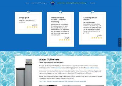 Iverson Westfall Plumbing Web Site Re-Design in WordPress