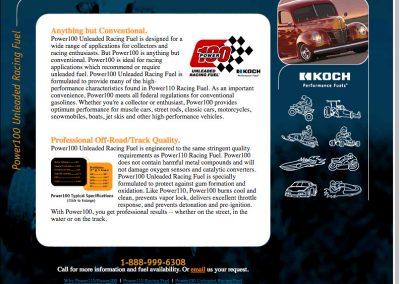 Koch Performance Racing Fuels Web Site Screenshot Power100