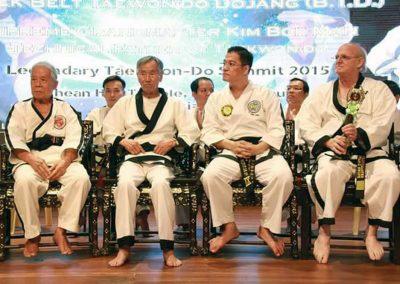 Grandmaster Stan Swope & Supreme Master Kim Bok-Man in Malaysia 2015