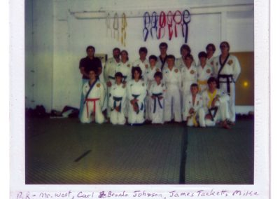 Grandmaster Stan Swope's Moo Duk Kwan Academy Group Photo