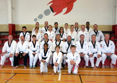 Group Photo from the Supreme Master Kim Bok-Man's Seminar in Kansas in 2013