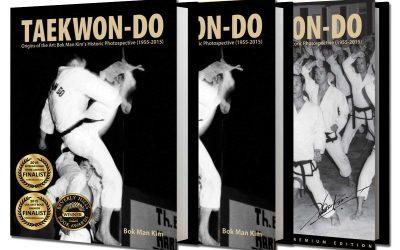 Taekwondo Pioneer Kim Bok-Man Wins International Book Award