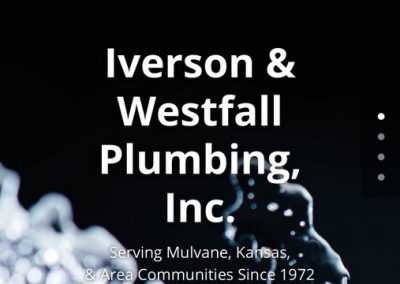 Iverson Westfall Plumbing Mobile Web Site Re-Design in WordPress