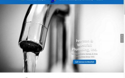 Iverson & Westfall Plumbing Web Site Redesign