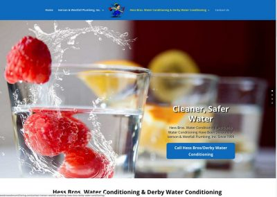 Iverson Westfall Plumbing Web Site Re-Design in WordPress
