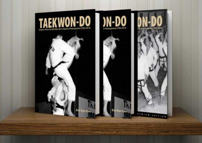 "Master Mike Swope in 2015 formed Moosul Publishing to produce Supreme Master Kim Bok-Man's award-winning photo history book, Taekwon-Do: Origins of the Art: Bok Man Kim's Historic Photospective. Get more info at <a href=""https://www.moosulpublishing.com"" target=""_blank"" rel=""noopener noreferrer"">Moosul Publishing</a>."