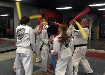 Kansas Chun Kuhn Taekwondo celebrates Stephen Swope's last day in class