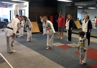 Kansas-Chun-Kuhn-Taekwondo-Bowing-In-For-Class