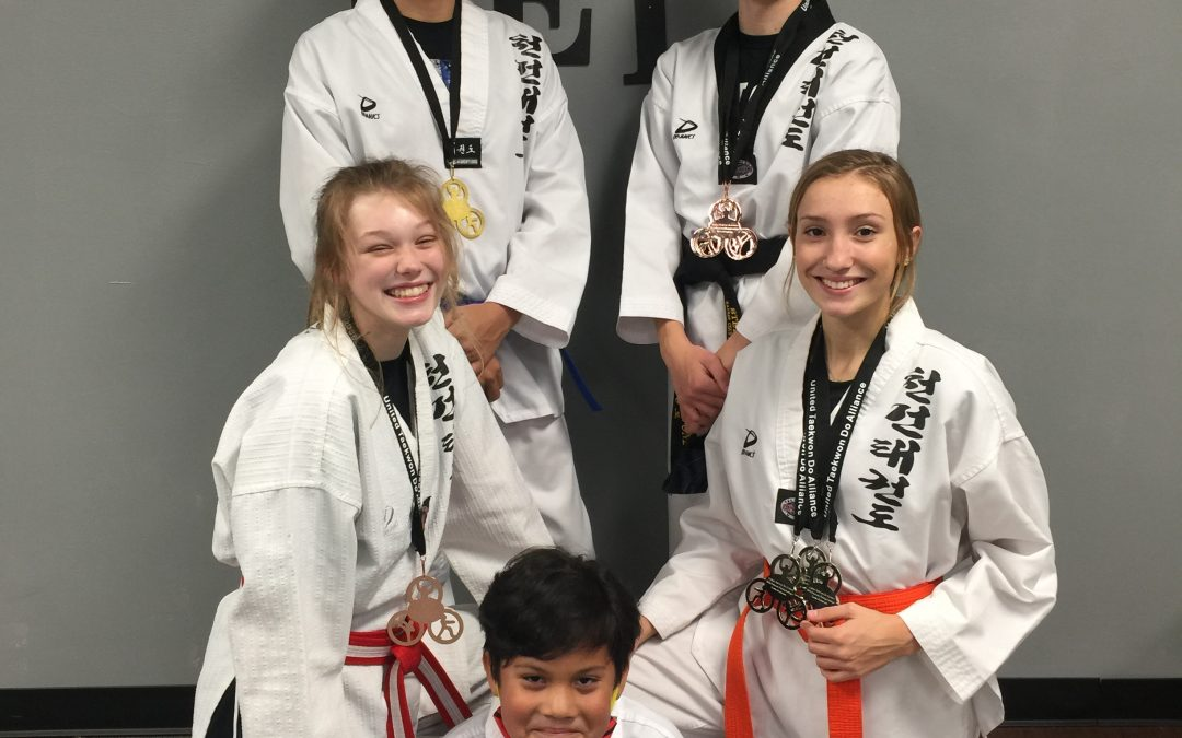 Kansas Chun Kuhn Taekwondo Students Win Multiple Medals at UTA Grand Nationals