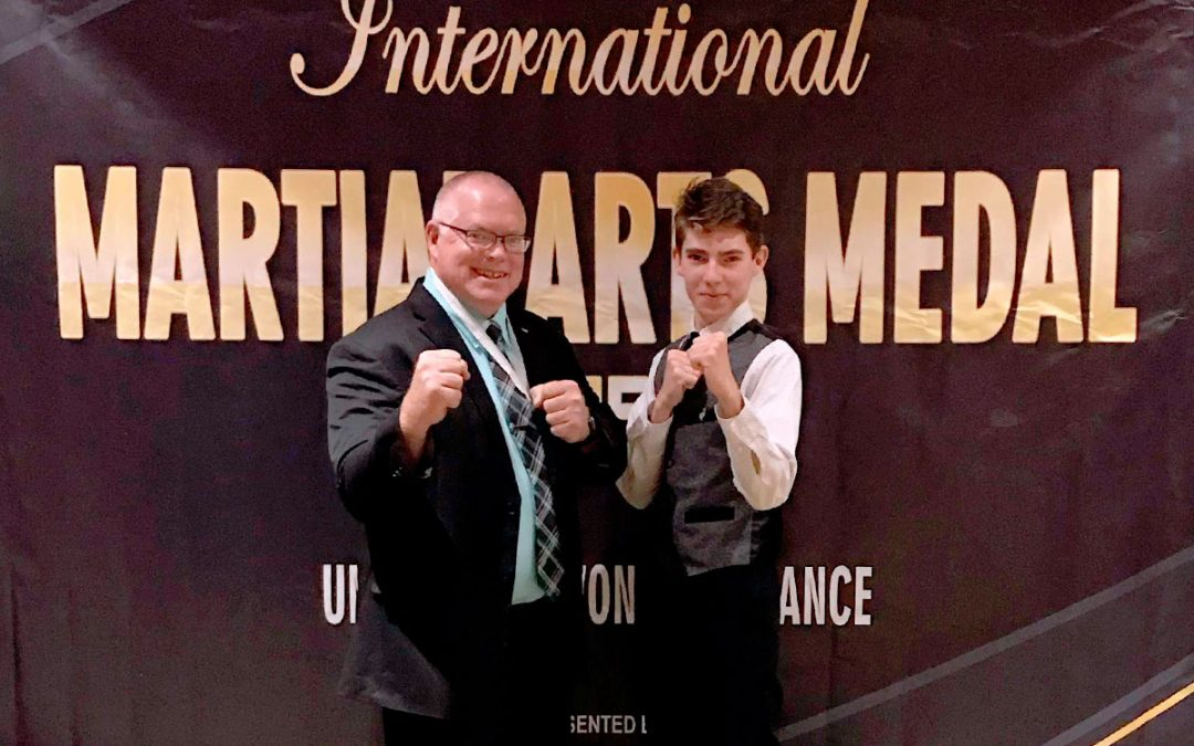 Kansas Chun Kuhn Taekwondo Instructor Receives International Medal of Merit
