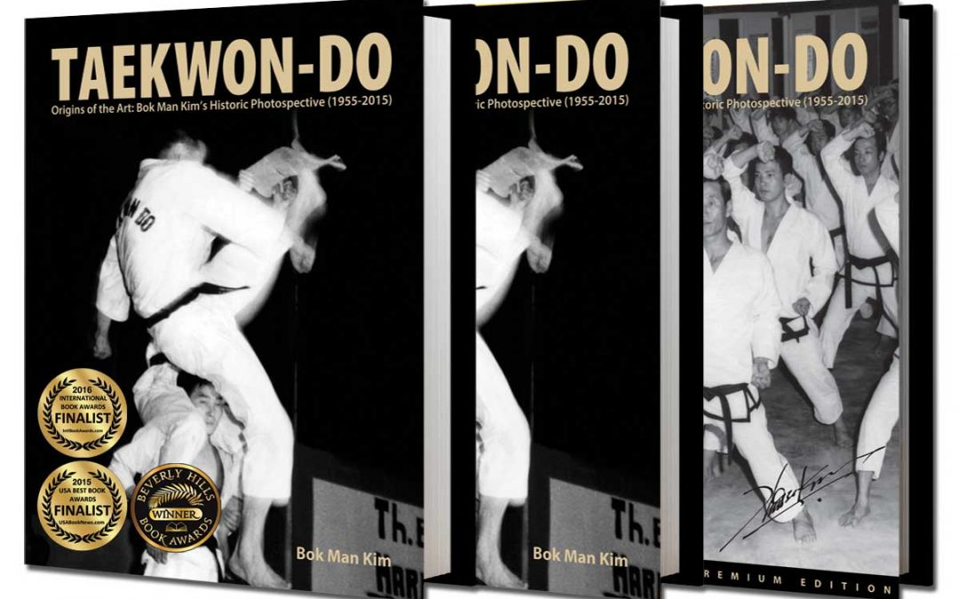 Taekwondo Pioneer Kim Bok-Man Wins International Book Award