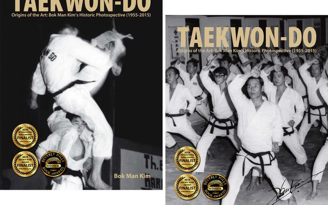 The latest award-winning book by Grandmaster Bok Man Kim, Taekwon-Do: Origins of the Art: Bok Man Kim's Historic Photospective (1955-2015), is an imaginative way to present the history of Taekwon-Do to readers of the modern martial arts, as seen through the eyes of the last living founding pioneer of military Taekwon-Do